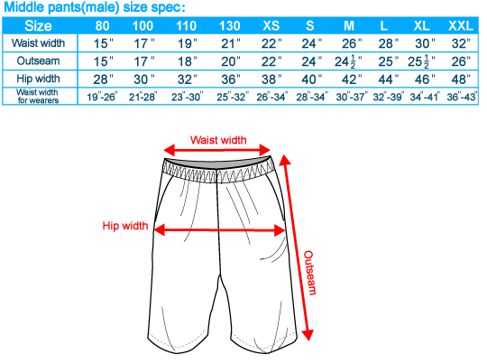 size-list-middle pants-male-20110518