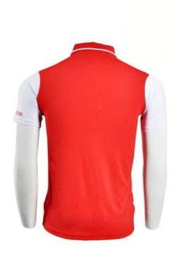 P517 red-white-blue polo shirts