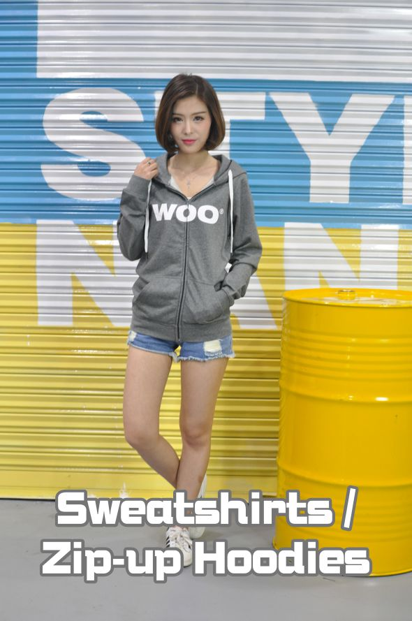 Model Show-Sweatshirts / Zip-up Hoodies