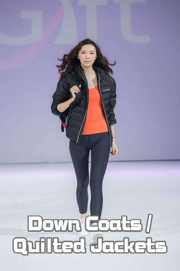 Model Show-Down Coats / Quilted Jackets