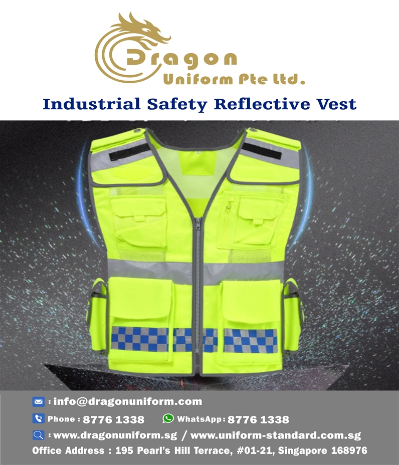 Industrial Safety Reflective Vest