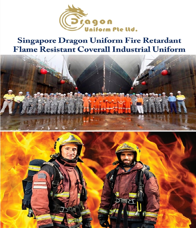 Fire RetardantFlame Resistant Coverall Industrial Uniform
